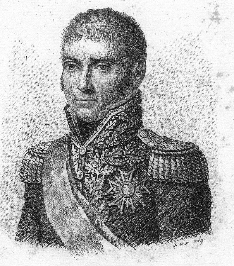 Le général-comte Dupont de l'Étang, ministre de la Guerre.