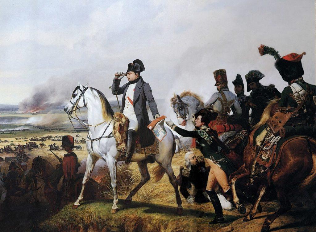 Bataille de Wagram par Horace Vernet.