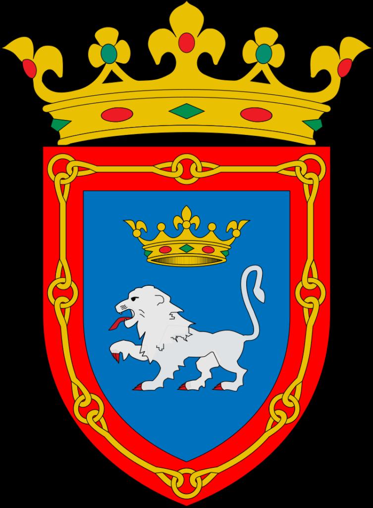 Blason communal de Pampelune (Espagne).