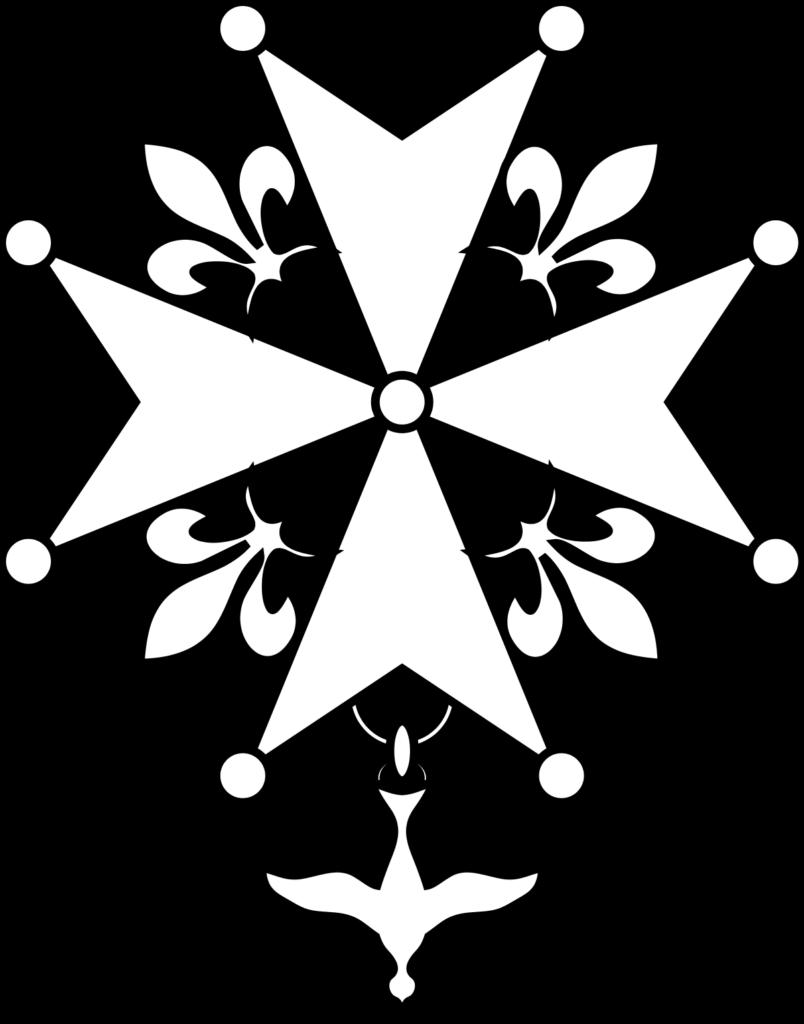 La croix huguenote est un symbole du protestantisme.