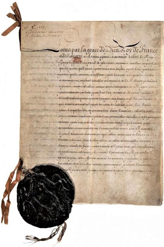 L'édit de Fontainebleau a été signé par Louis XIV le 18 octobre 1685.