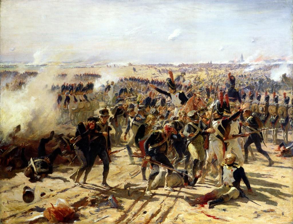La Bataille d'Essling par Fernand Cormon.