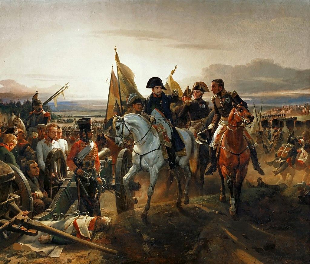 La Bataille de Friedland par Horace Vernet.