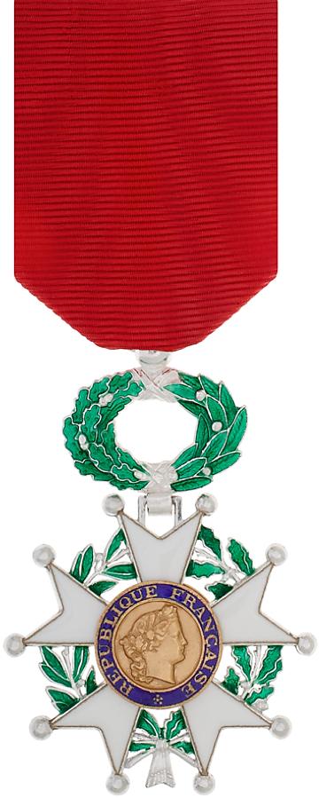 Médaille de la Légion d'honneur (avers).