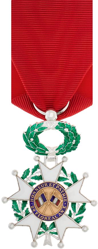 Médaille de la Légion d'honneur (revers).