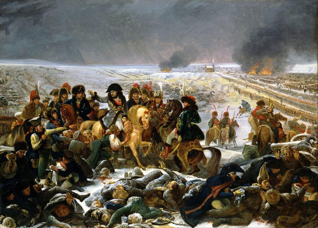 Napoléon à la Bataille d'Eylau par Antoine-Jean Gros.