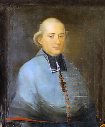 Armoiries de monseigneur Jean-Charles de Coucy.