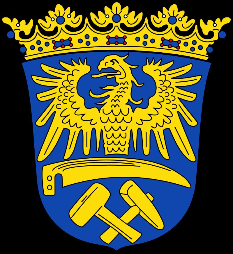 Blason régional de la province de Haute-Silésie (Allemagne).