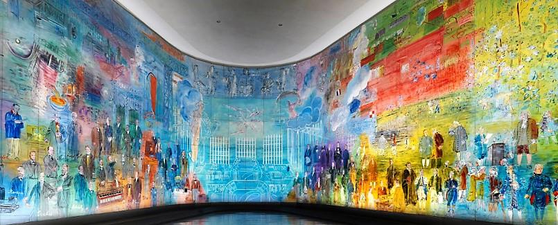 La Fée Electricité par Raoul Dufy (musée d'art moderne de la ville de Paris).