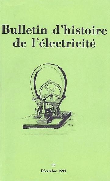 L'électricité en France : marchés, réseaux et pouvoirs publics (1880-1940), article du Bulletin d'histoire de l'électricité n° 22 (1993), p. 187-202.