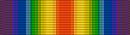 Barrette Dixmude de la médaille interalliée commémorative de la première guerre mondiale dite de la victoire.