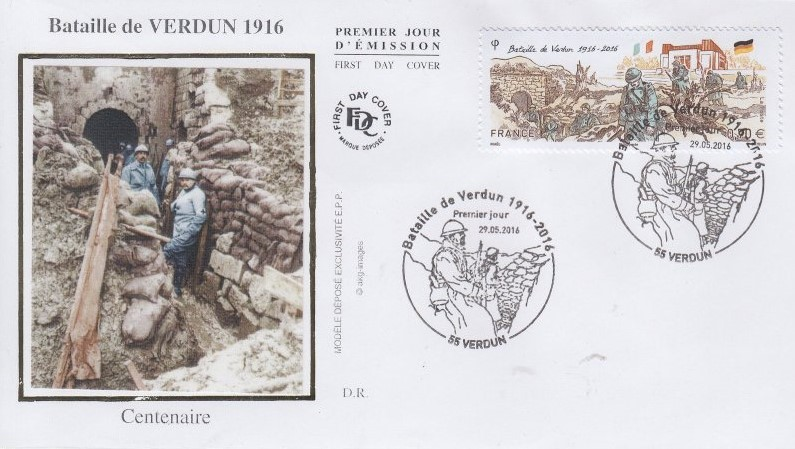 Le lundi 21 février 1916 à 7 h 15, un déluge de feu s'abat sur Verdun.