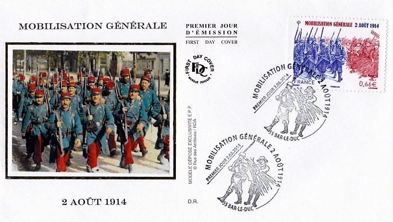 Mobilisation générale du 2 août 1914