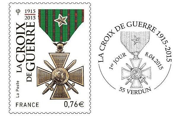 La croix de guerre de 1914-1918 avec étoile de bronze correspond à une citation à l'ordre du régiment (ou de la brigade).