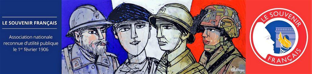 Le Souvenir français est une association créée en 1887 qui entretient la mémoire des soldats morts pour la France.