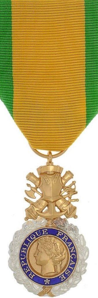 Médaille militaire (avers).