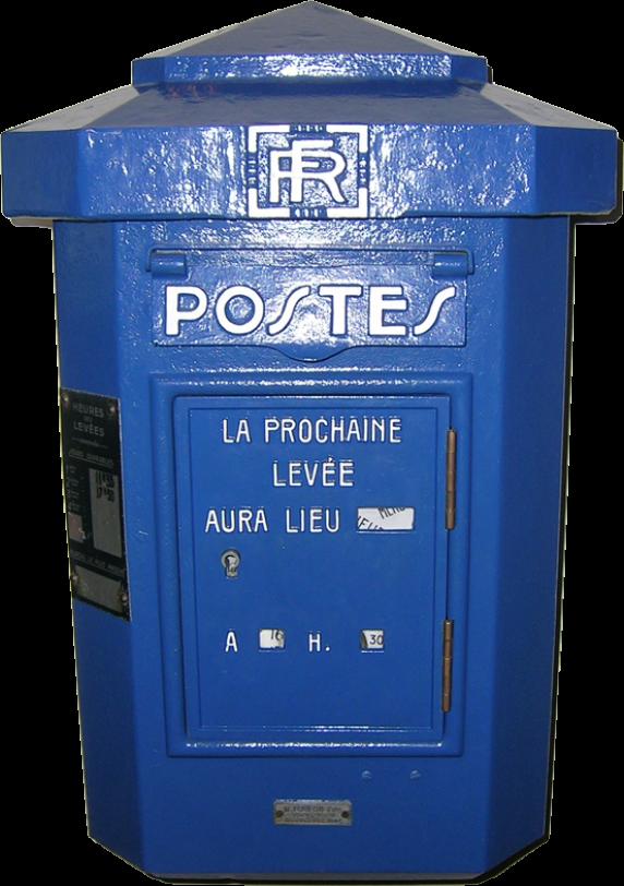 Modèle officiel de boîte aux lettres fabriquée pour la poste par la maison Foulon en 1930.