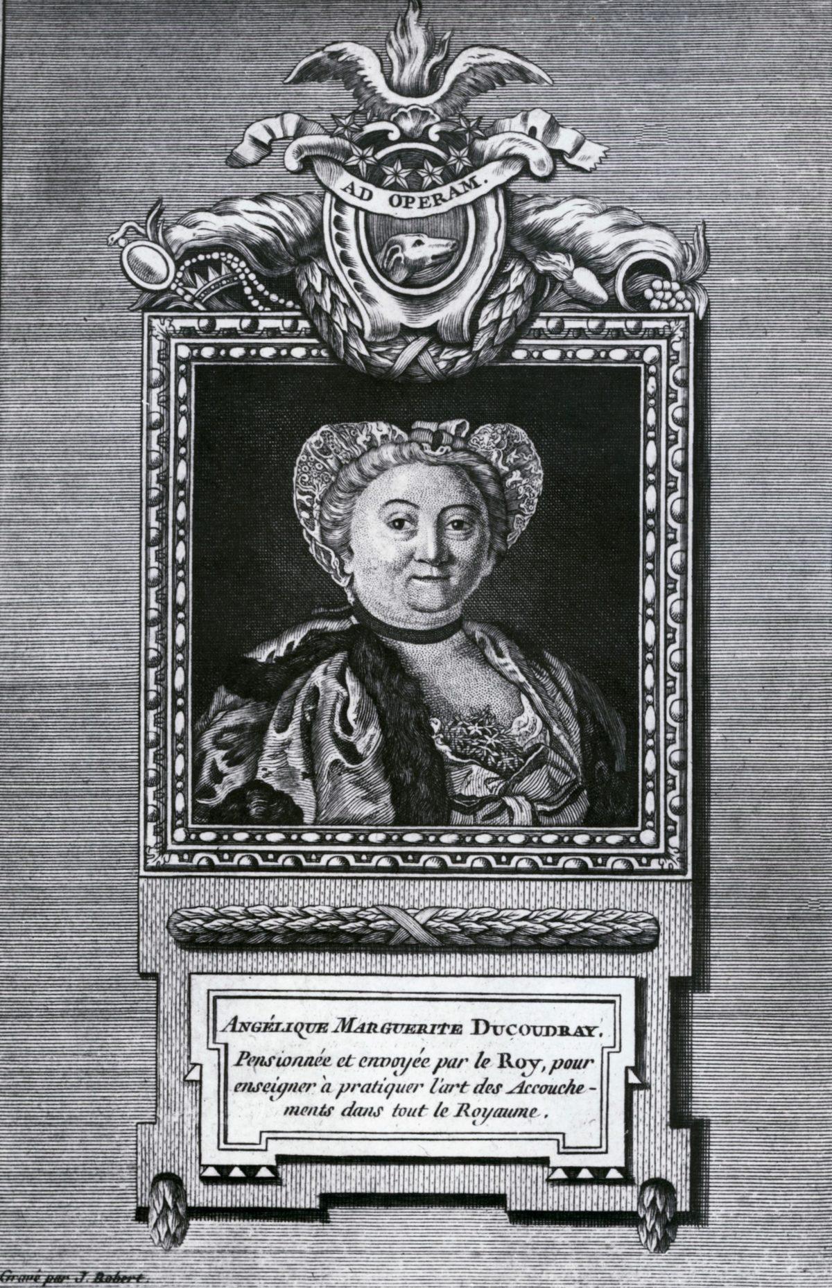 Portrait de madame Du Coudray.