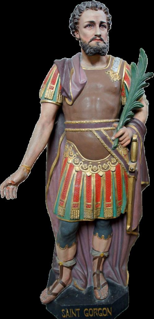 Saint Gorgon, martyr romain de l'époque de Dioclétien, est fêté le 9 septembre.